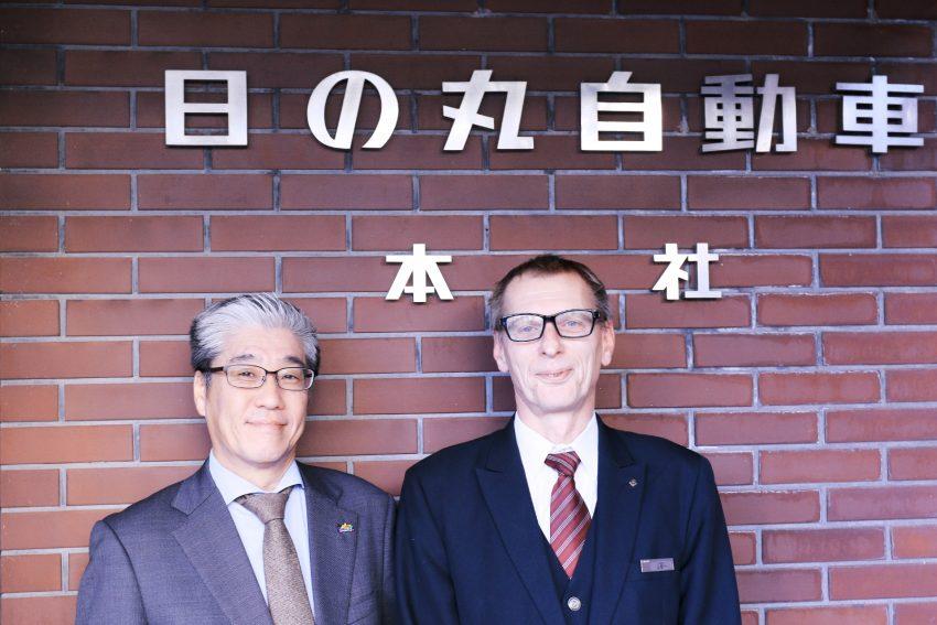Kazumi Otsu and Wolfgang Ruger of Hinomaru Kotsu